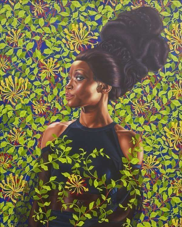 Kehindle Wiley, Oil Painting, Shantavia