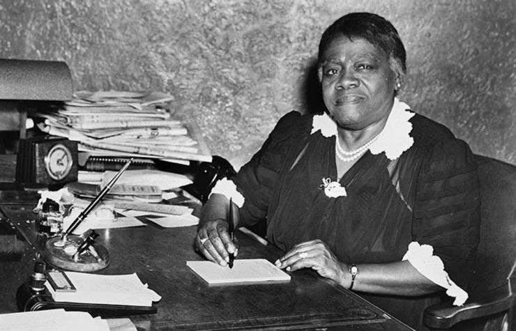 Mary McLeod Bethune, black statue, confederate statue, famous black women, black excellence, black educators