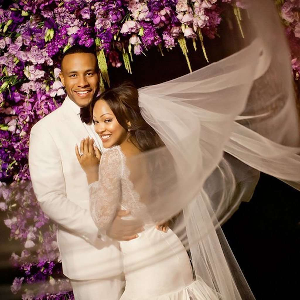 These Black Celebrities Wore Stunning Wedding Dresses! #3 Wore 3 ...