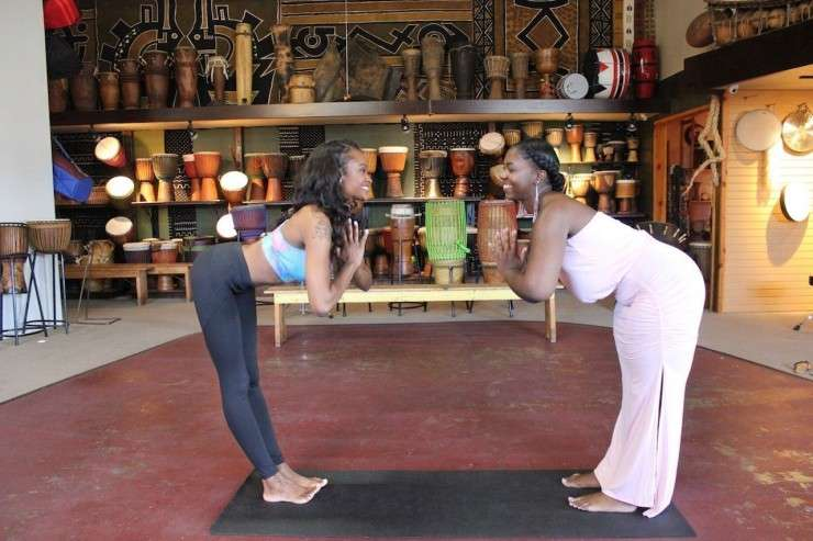 mocha yoga, black owned business, yoga for black women, black excellence