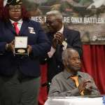 First African American US Marine receives Congressional Gold Medal