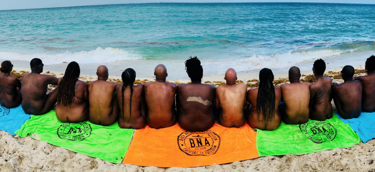 black nudist, black nude, black nudist movement